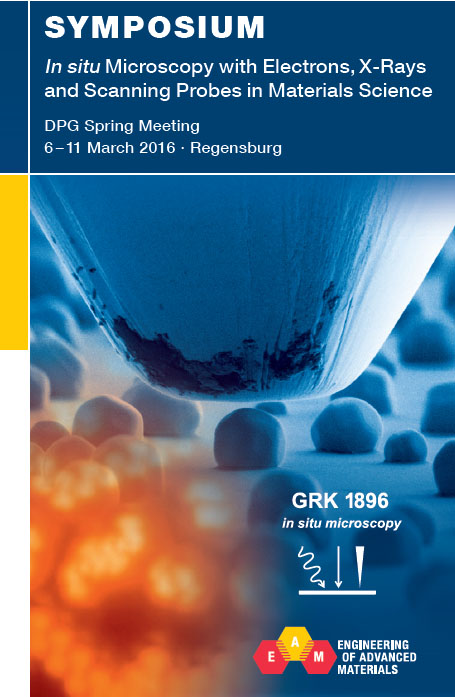 "Towards entry ""GRK 1896 Symposium at the DPG spring meeting 2016 in Regensburg"""